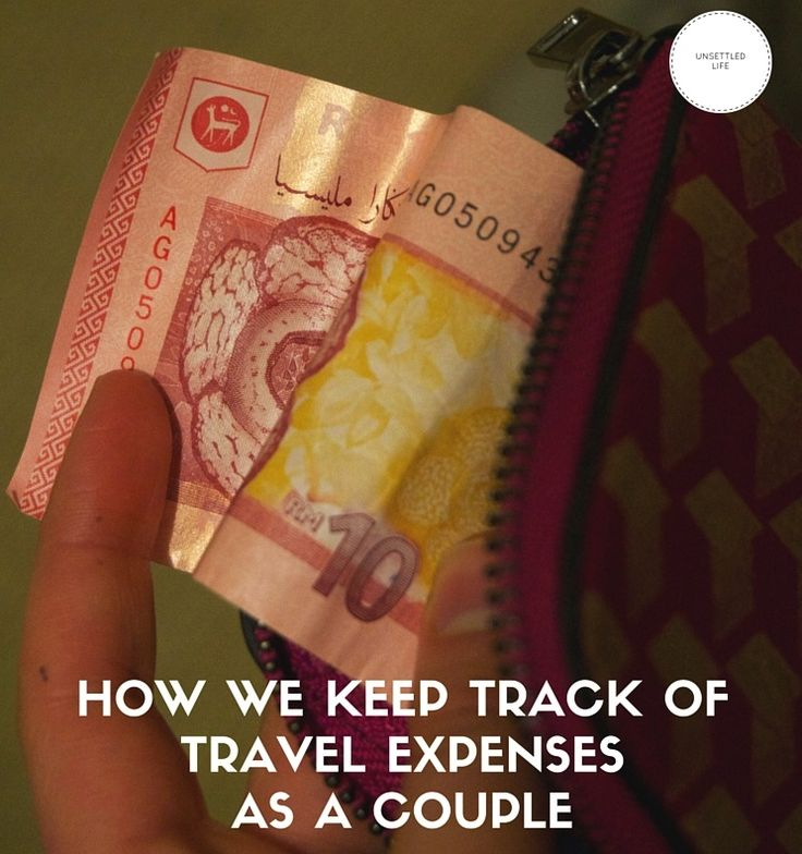 How we keep track of travel expenses as a couple: sharing costs when on a trip with others, especially in relationships.