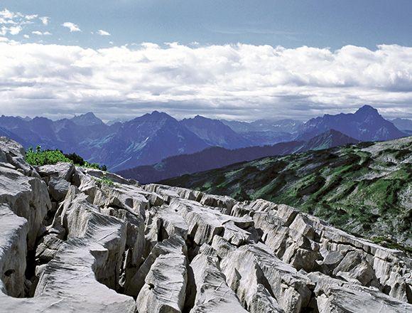 Gottesacker @ Ifen   Kleinwalsertal - Vorarlberg - Austria Impressive karst landscape