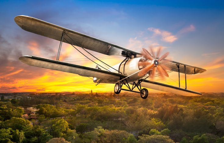 Vintage Biplane puzzle in Aviation jigsaw puzzles on TheJigsawPuzzles.com. Play full screen, enjoy Puzzle of the Day and thousands more.
