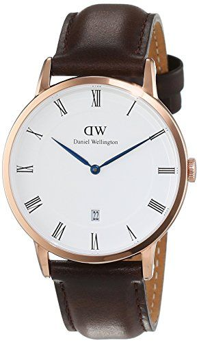Daniel Wellington men's Quartz Watch Analogue Display and Leather Strap 1103DW…