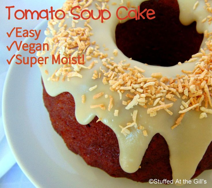 Carrot cake recipe tomato soup