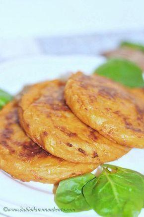 Galettes de patate douce crousti-moelleuses