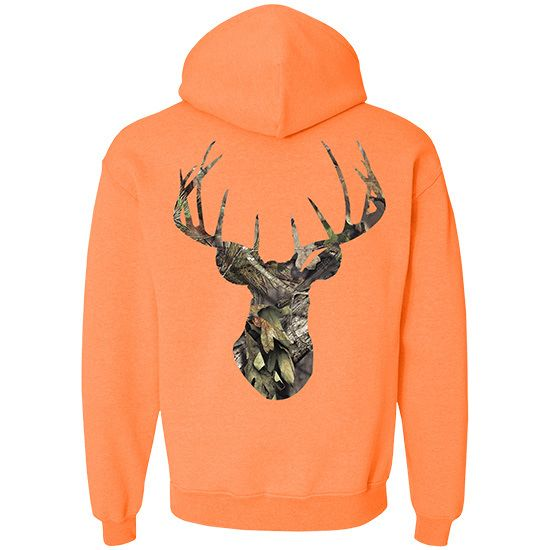 Men's Mossy Oak® Break Up Country Deer Head Pullover Hoodie