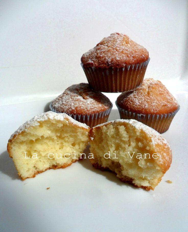 Muffin allo yogurt e cocco ricetta dolce