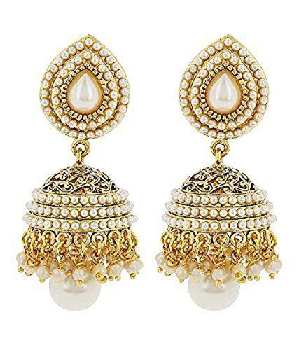 Indian Boolywood Styles Pearl Polki Gold Plated White Jhu... https://www.amazon.com/dp/B01L8ML8OU/ref=cm_sw_r_pi_dp_x_rTK0ybC2GJYWQ