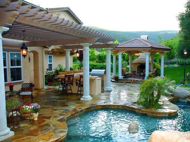 Backyard ideas dream home in florida one day pinterest for Dream backyard designs