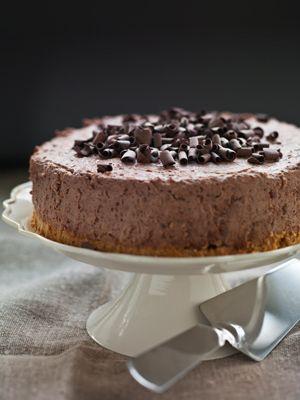 Chokolade- og mandelkage - Dessert/kage - Opskrifter - Mad og Bolig