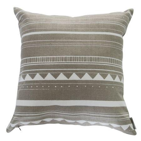 Hemp Frank cushion cover in white - hardtofind.