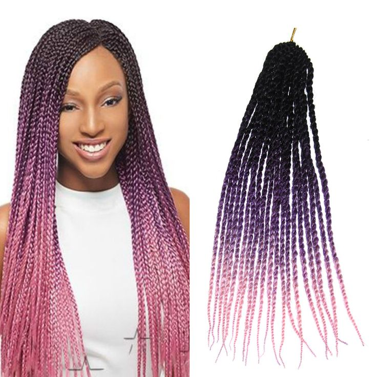 58 best synthetic hair extension images on pinterest hair care 20 ombre synthetic pretwist braids kanekalon senegalese crochet hair extension pmusecretfo Choice Image