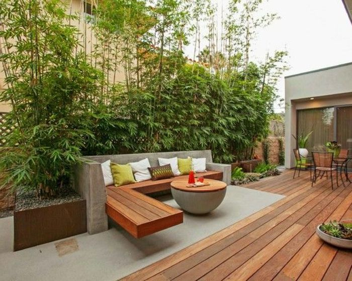 amenagement incroyable cour exterieure maison 8 voici nos exemples pour un banc de jardin - Amenagement Cour Exterieur Maison