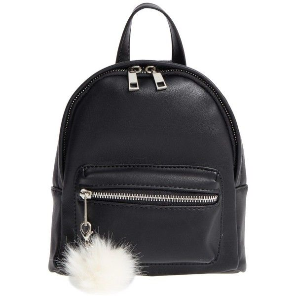 Women's Bp. Faux Leather Mini Backpack ($39) ❤ liked on Polyvore featuring bags, backpacks, backpack, black, daypack bag, day pack backpack, fake leather bag, miniature backpack and rucksack bags