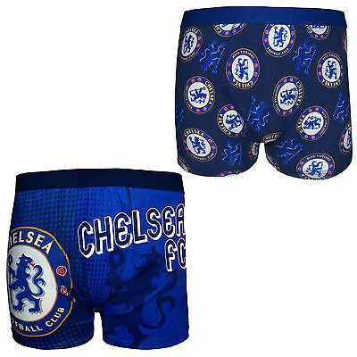 #Chelsea fc #official football gift mens crest #boxer shorts blue,  View more on the LINK: http://www.zeppy.io/product/gb/2/172090234081/