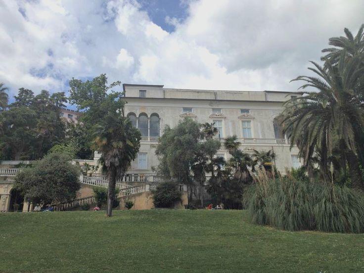 La storia di villa Imperiale a San Fruttuoso