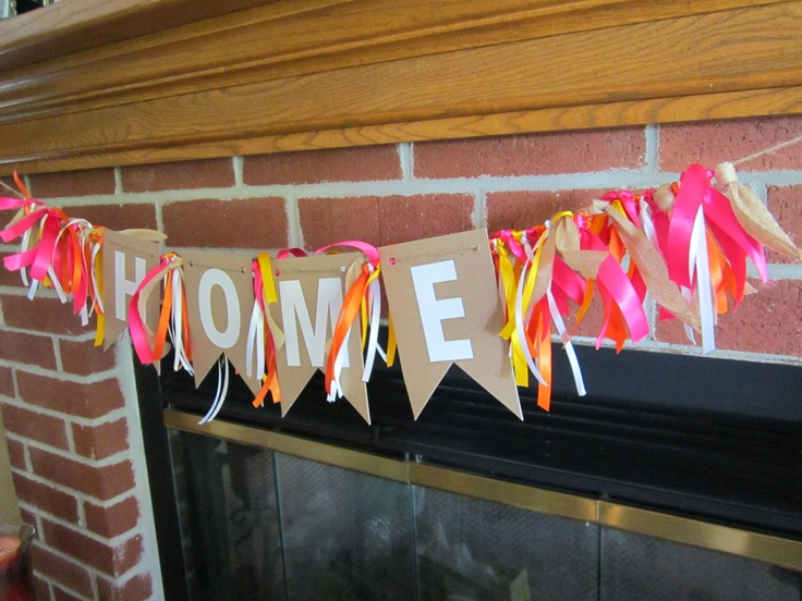 Housewarming party banner