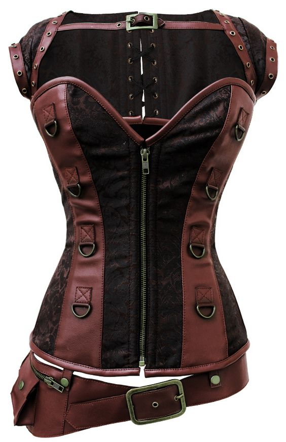 One day - and one day not TOO far from now - I'm gonna have this one. It's the prettiest, most awesomest corset I've seen so far. :O