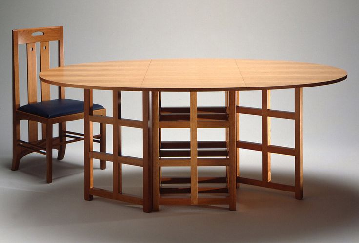 Charles Rennie Mackintosh Table And Chair Like His