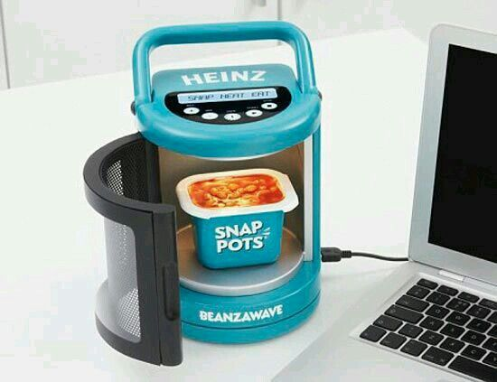 Cool little tiny miny oven just connect to your laptop and tadaa