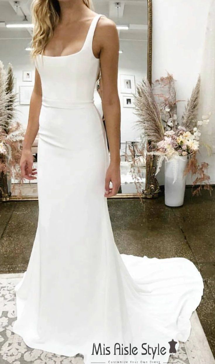 38+ Square neck wedding dress ideas