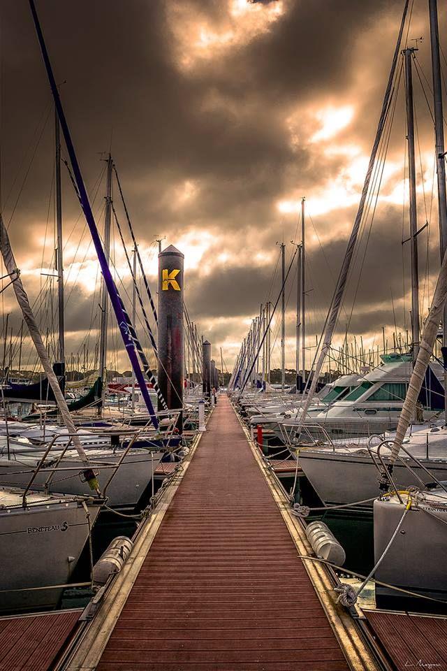 Photo Brest derrière mon objectif - Port de plaisance du Moulin Blanc