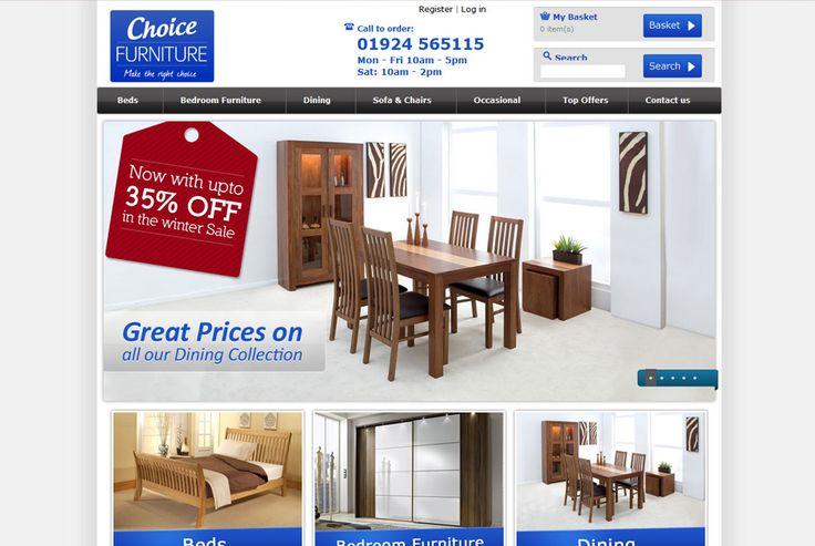 Choice Furniture - A luxury lifestyle ecommerce store http://www.choicefurnitureltd.co.uk #ecommerce #design #development