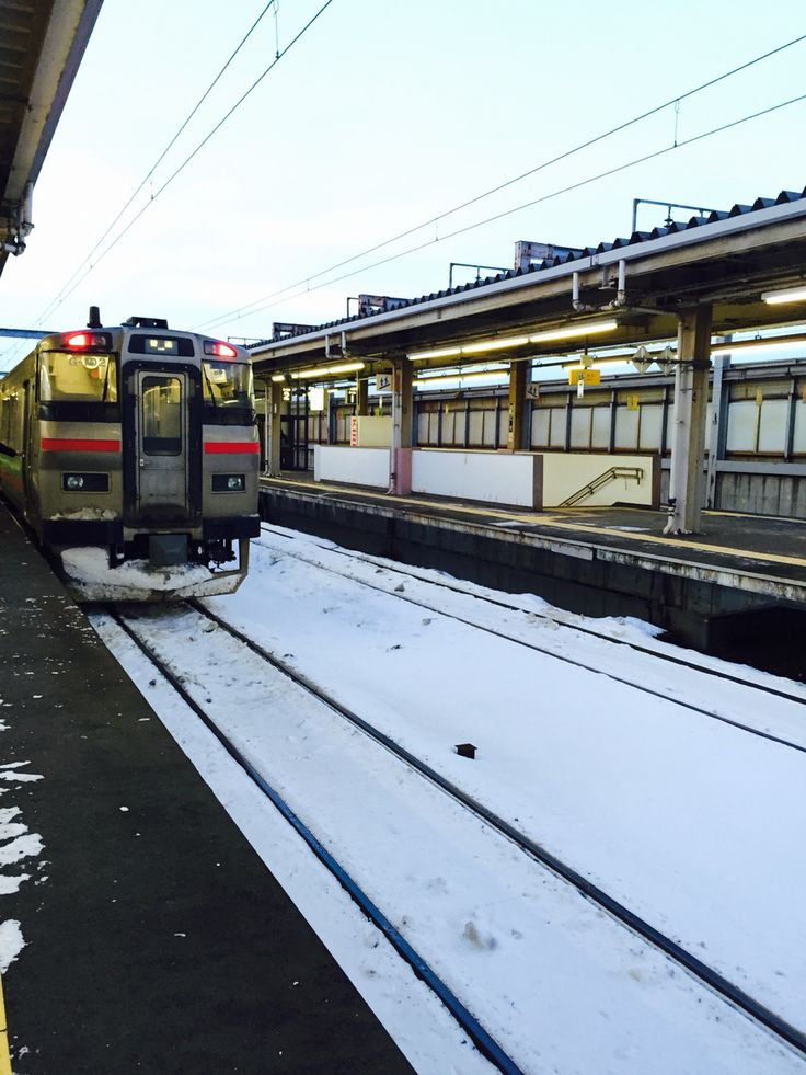 Winter Train in Sapporo ❄️