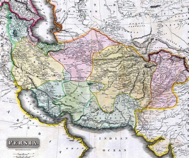 Iran Politics Club Iran Historical Maps Qajar Persian Empire - China historical map 1890 1907