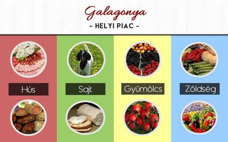 Cser Hajnalka Veronika munkája - Galagonya Helyi piac gyakorlat 1. kör - mooboard ------------------------------------- Tervezz Te is ilyeneket! http://www.webdesigntanfolyam.com