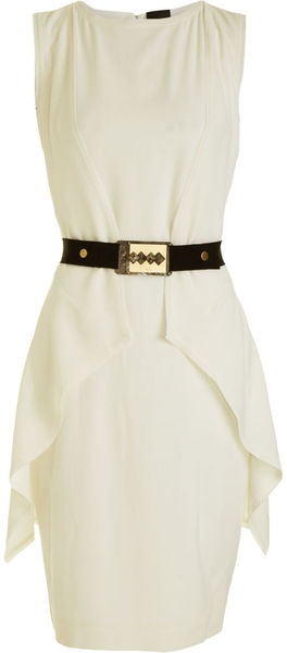 Looks fairly basic... hmmm?  Fendi Sleeveless Belted Dress