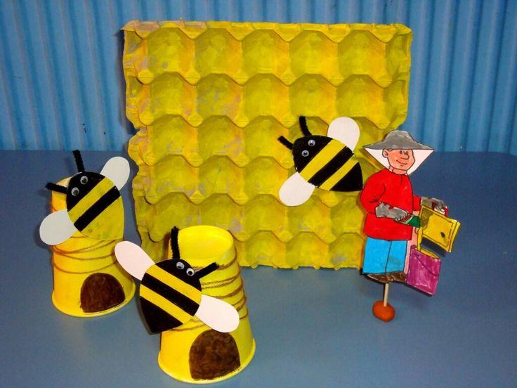 Ο μελισσοκόμος# Μαθαίνουμε για τις μέλισσες.
