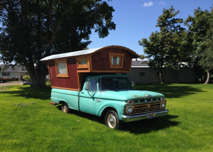 this 1966 ford f100 gypsy camper house truck has been