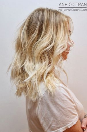 LA: SIMPLY GORGEOUS HAIR AT RAMIREZ|TRAN SALON IN BEVERLY HILLS. Cut/Style: Anh