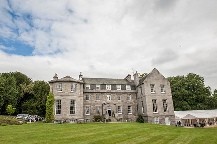 Ha' Hoose at Raemoir House Hotel - dating back to 1715 with two rooms – both of which are dog friendly, just incase you want to bring your four-legged friends to be part of your special day.