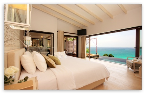 Luxury Resort Room...no idea where this is but it's about to go onto my vision board!