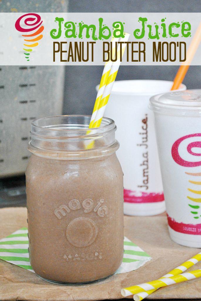 Copy Cat Recipe: Jamba Juice Peanut Butter Moo'd