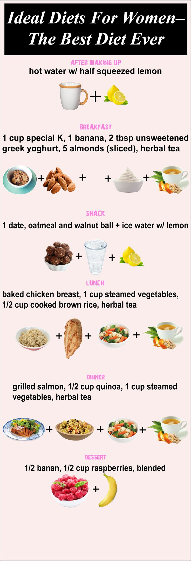 What is considered an ideal diet? If you are looking for an ideal diet for women discover six best diets for women- The Best diet ever !