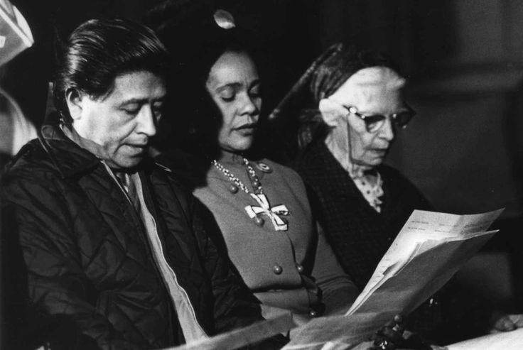 Cesar Chavez, Coretta Scott King, Dorothy Day