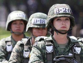 41ª Zona Militar Reconoce Labor de la Mujer en el Ejército y Fuerza Aérea
