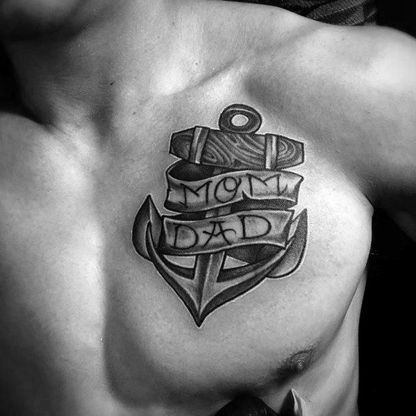 60 Unique Anchor Tattoos For Men Cool Design Ideas Tattoos For