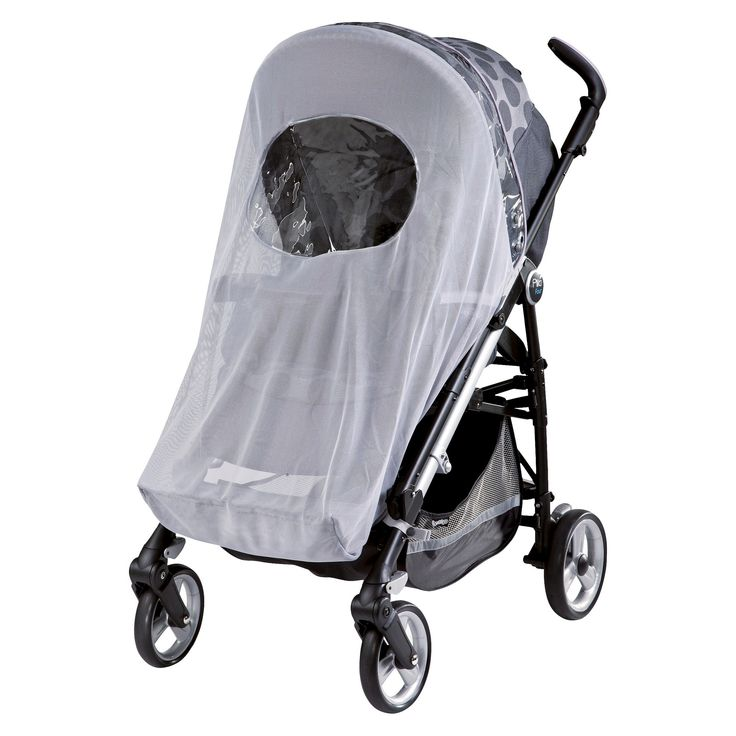 Peg Perego Stroller Mosquito Netting, Gray