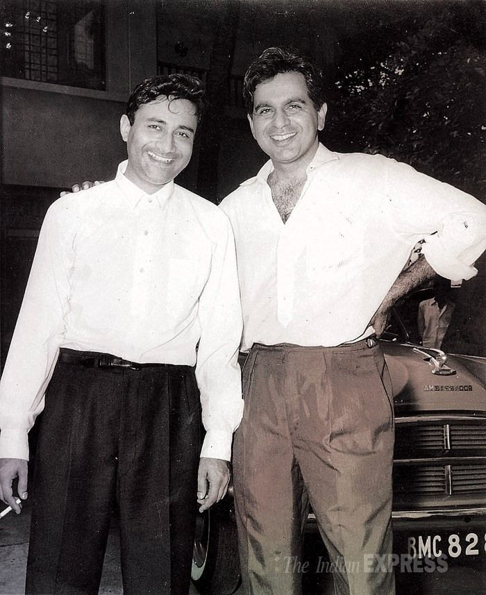 """Dilip Kumar's tribute to Dev Anand """"I am just a year senior to Dev Anand. All three of us, Raj, Dev and I, started our careers around the same time in the mid-1940s. I still have fond memories of Dev and I travelling by local train to look for work..."""