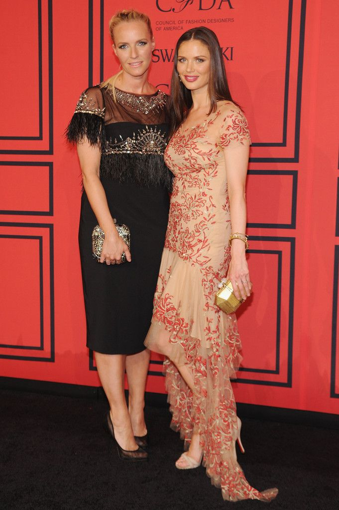 Keren Craig and Georgina Chapman..