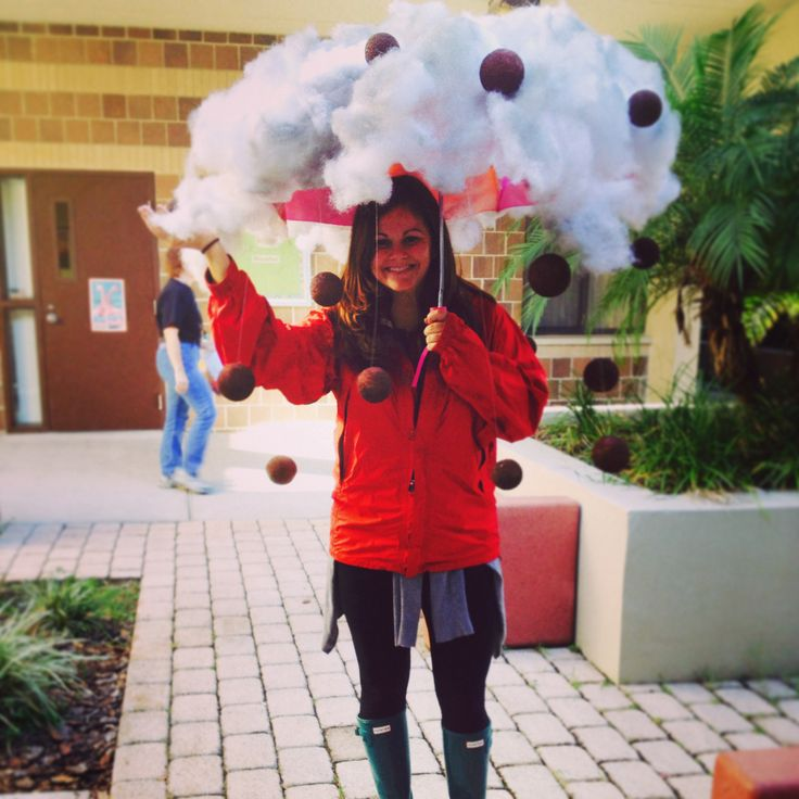 Storybook character costume. Cloudy with a Chance of Meatballs. Costume. Storm Costume. Halloween
