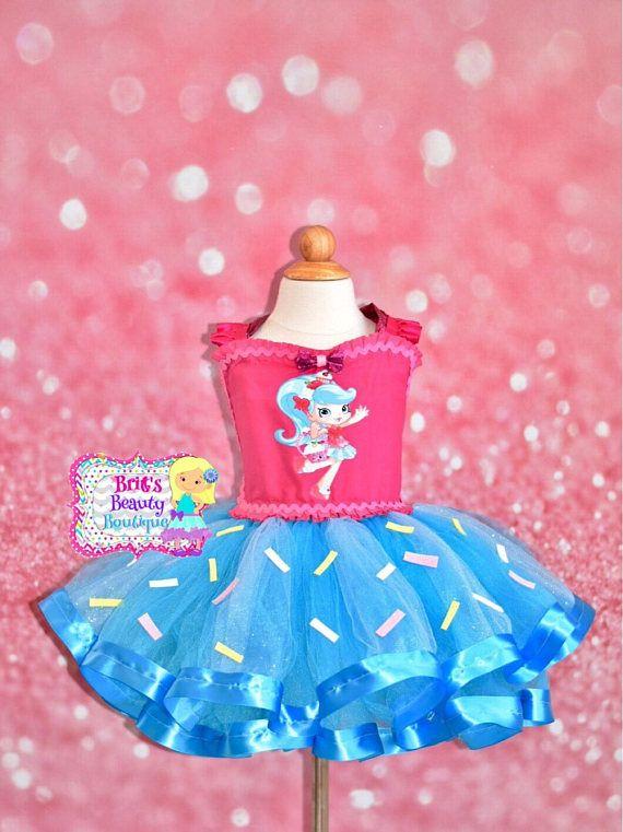 Inspired by Shopkins Shoppies Jessicake Tutu Dress/Shopkins