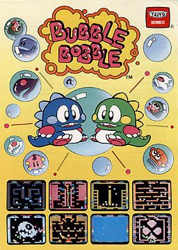 Spent hours with my BFF playing Bubble bobble on her...wait for it Commodore 64!!!