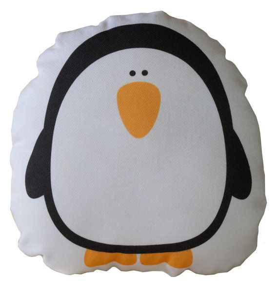 Penguin Cushion, Pillow, Soft Toy for Children  www.bobomoo.com
