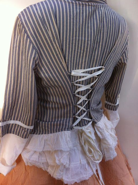 SESAME-CLOTHING... upcycled blazer to chic vintage look