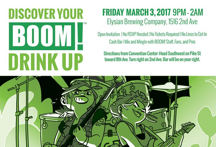 BOOM! Studios is pleased to announce it will exhibit at Emerald City Comicon 2017, which will take place at the Washington State Convention Center in Seattle, Wash., during the weekend of March 2-5…