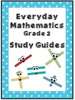 Everyday Math Grade 2 Study Guides Units 1 12 4th Edition