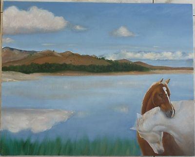 lake horses romantic