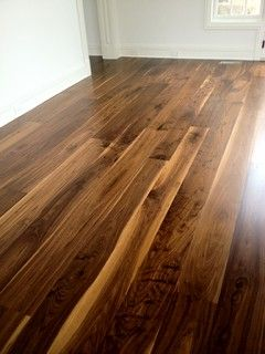 Wide Plank Hard Wood Flooring